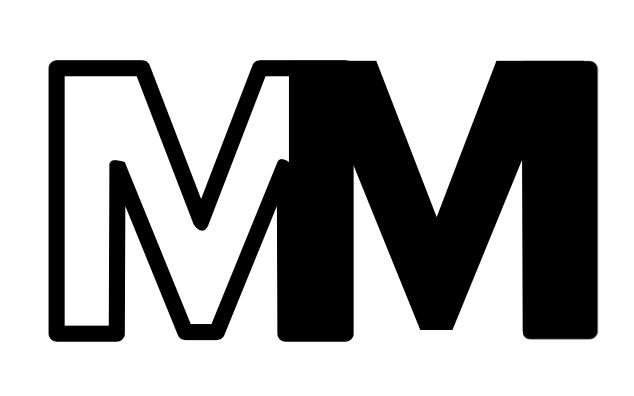 M&M Logo white