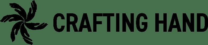 crafting hand logo
